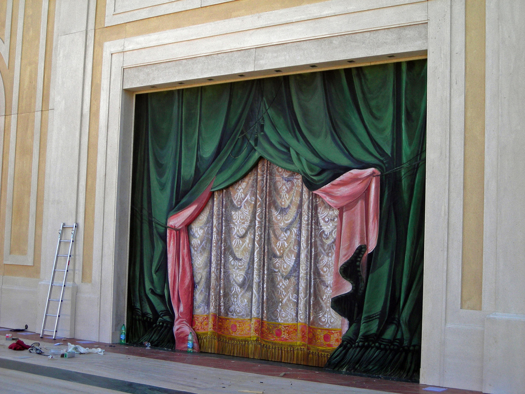 Valentino the Painted Curtain